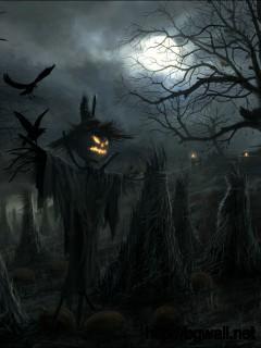 Wallpaper Terror Night Halloween