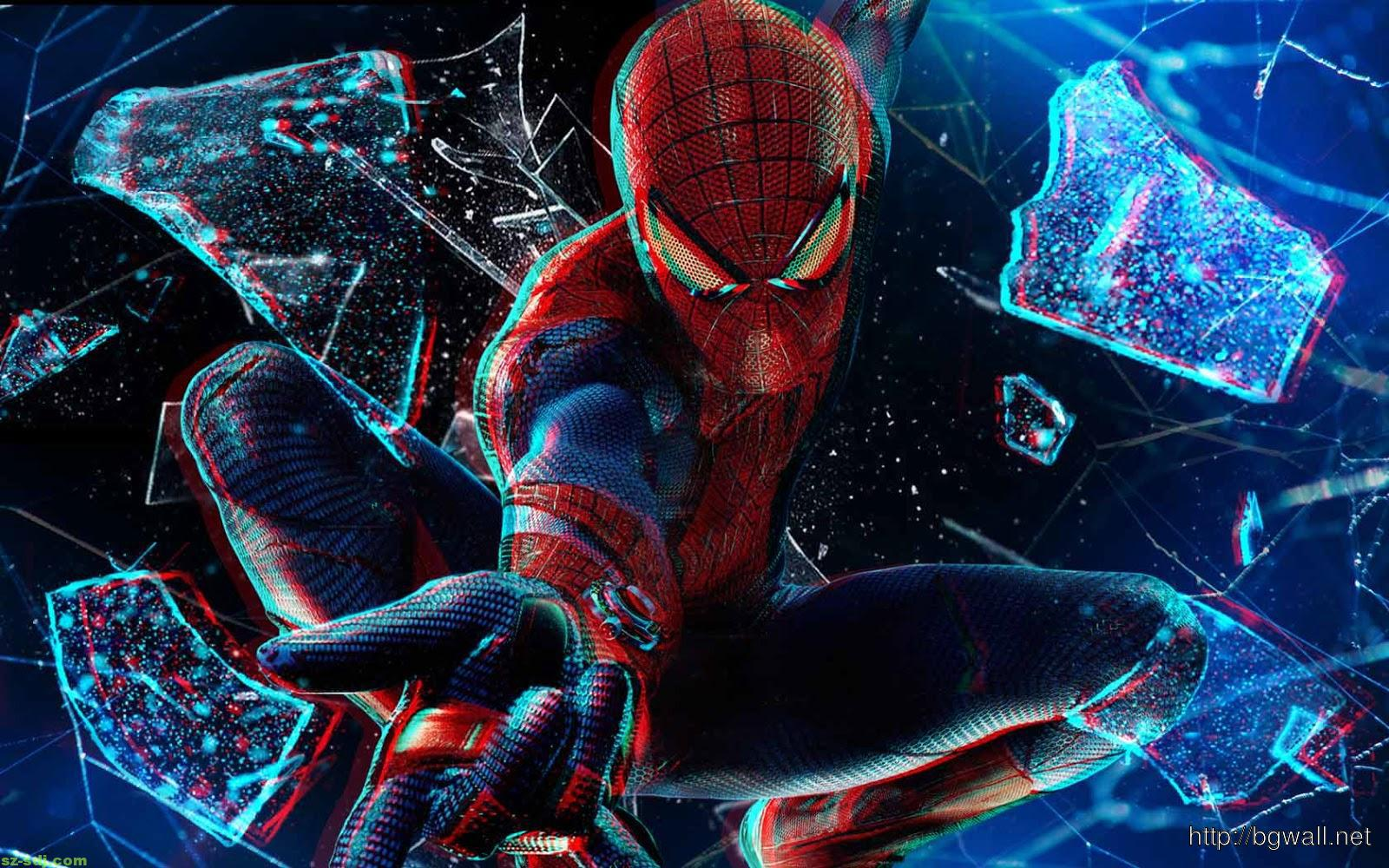 3d Colors Spiderman Wallpaper Background Wallpaper Hd