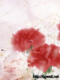 Art-Red-Flowers-Wallpaper