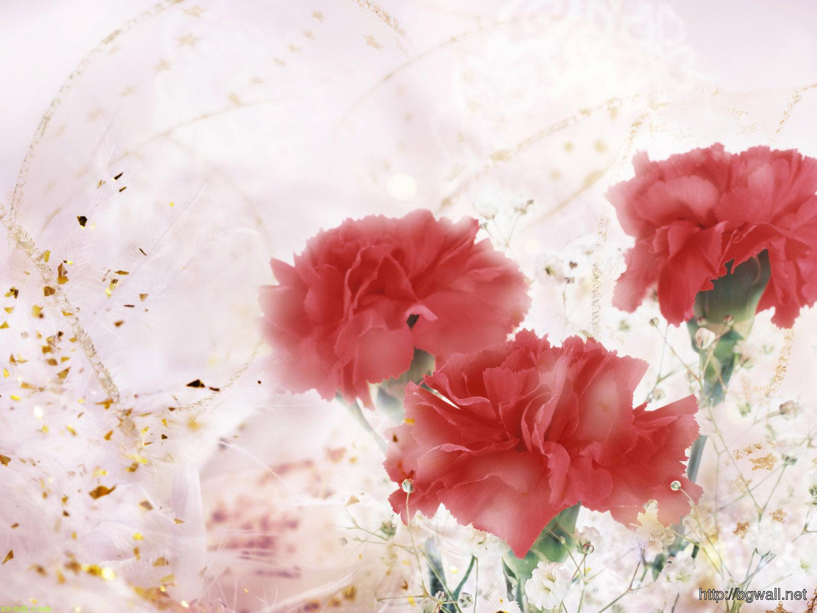 Art-Red-Flowers-Wallpaper
