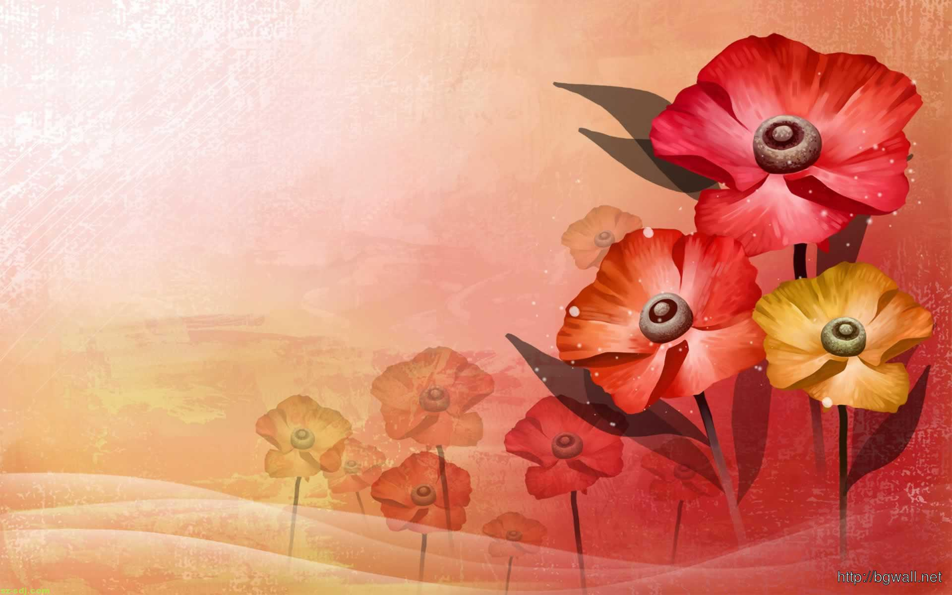 art flowers background wallpaper - photo #8