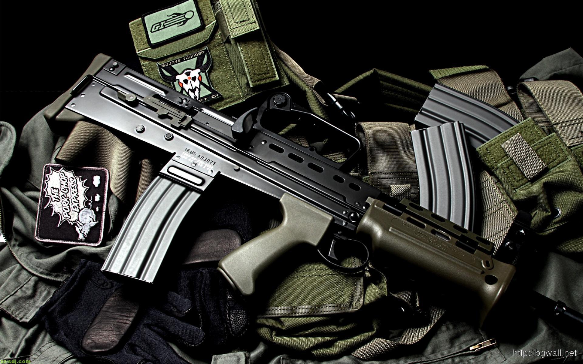 Cool Airsoft Guns L85 Wallpaper