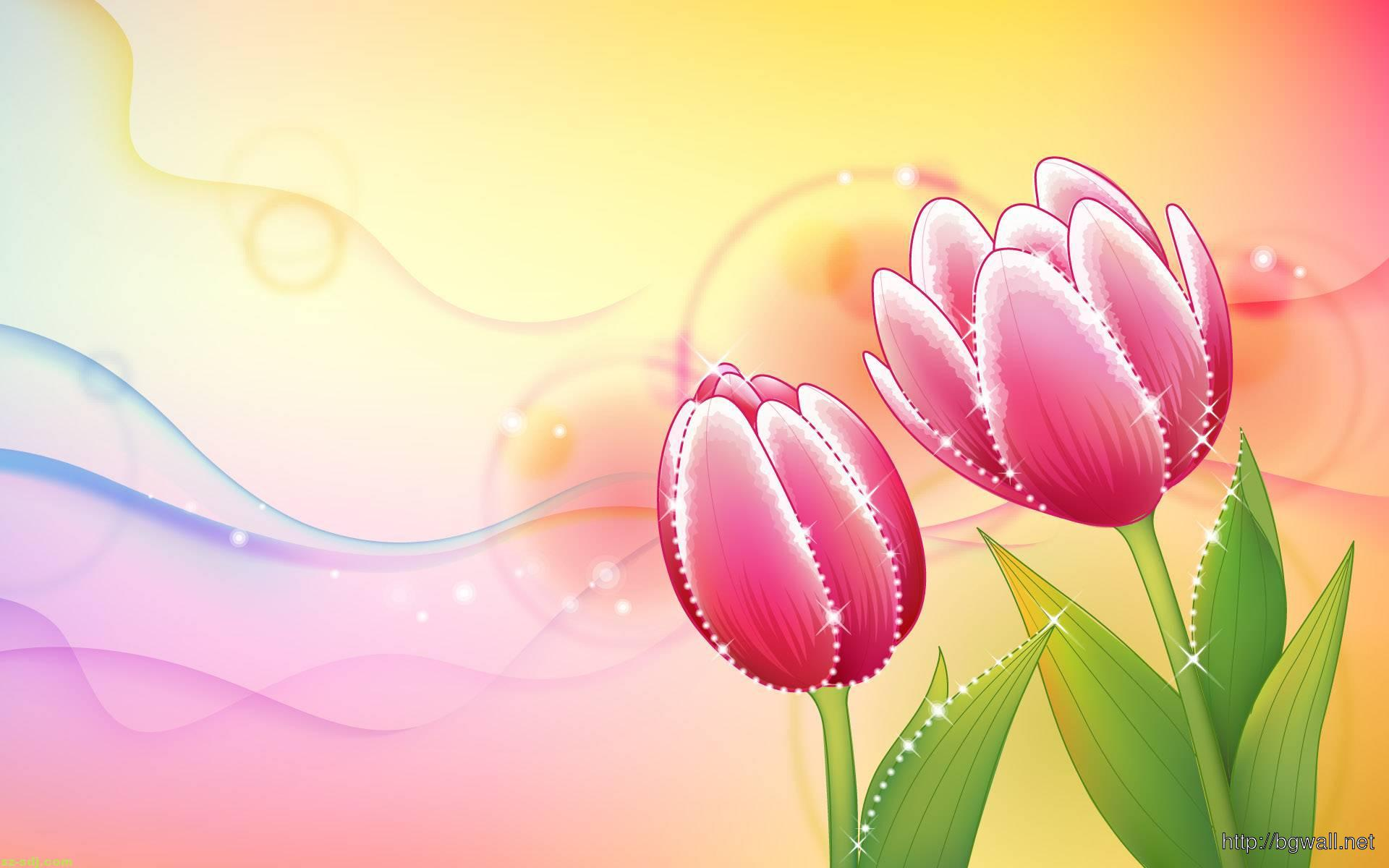 Flowers Art Painting Wallpaper Hd Background Wallpaper Hd