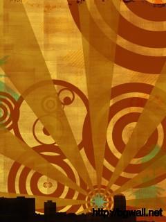 abstrack-retro-city-wallpaper-download