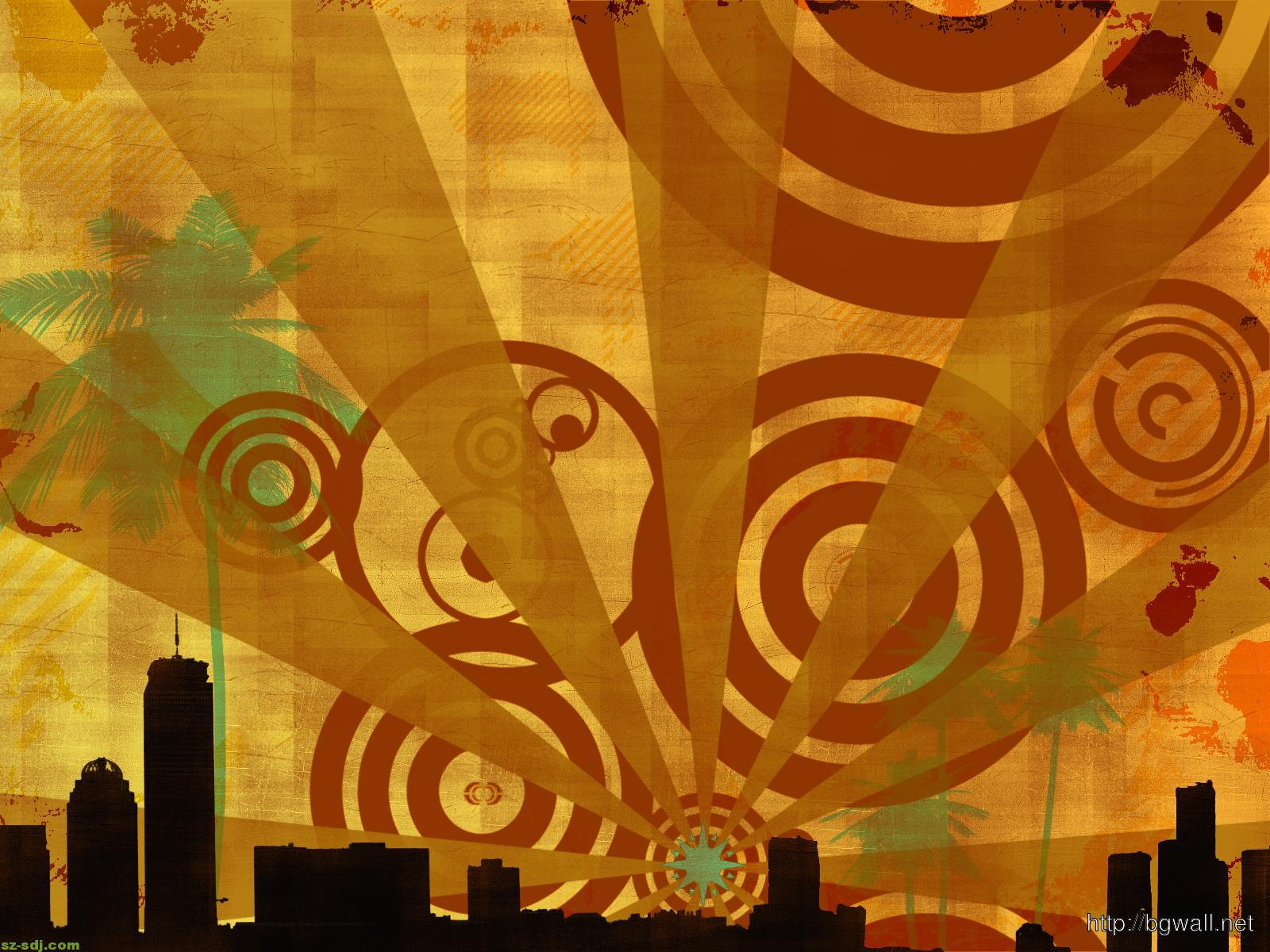 abstrack-retro-city-wallpaper-download