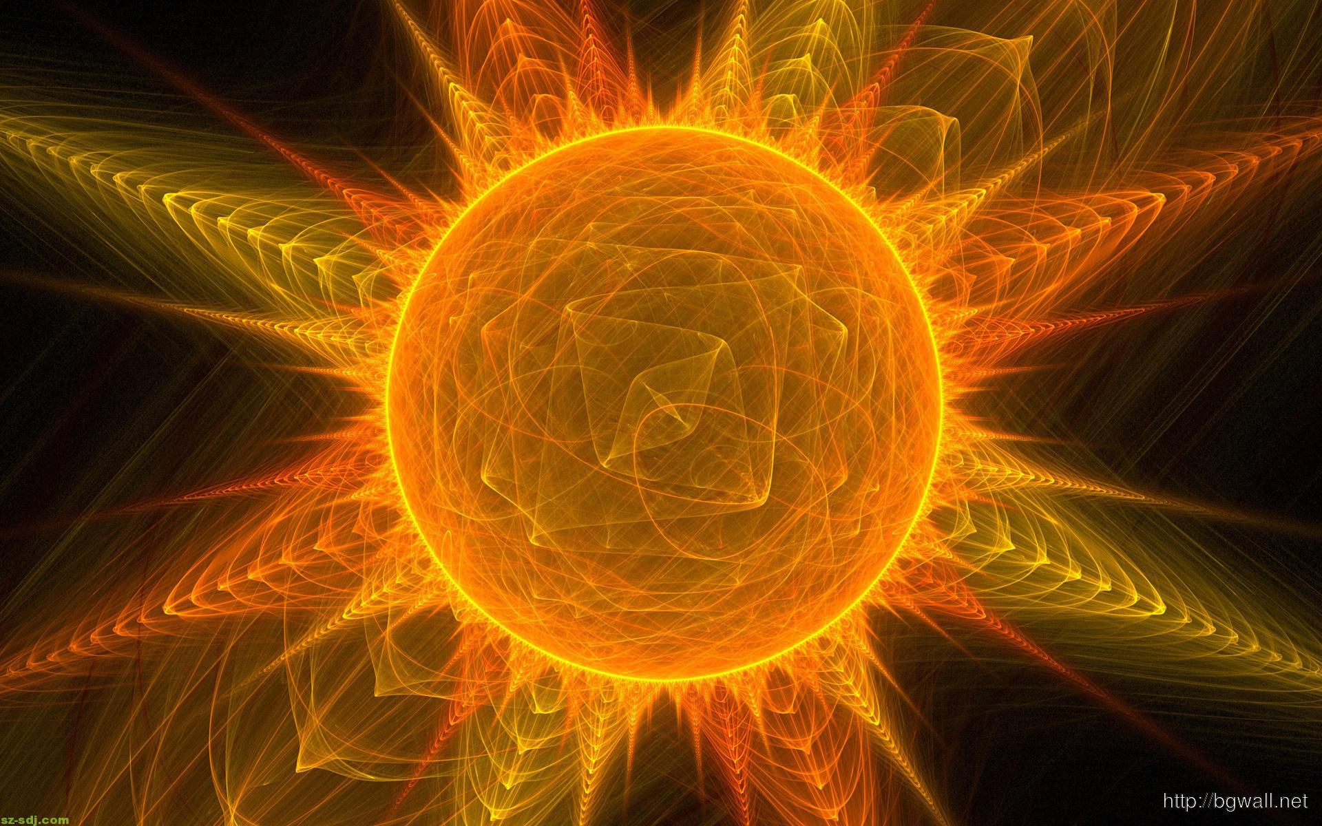 Abstract Sun Images Wallpaper Hd