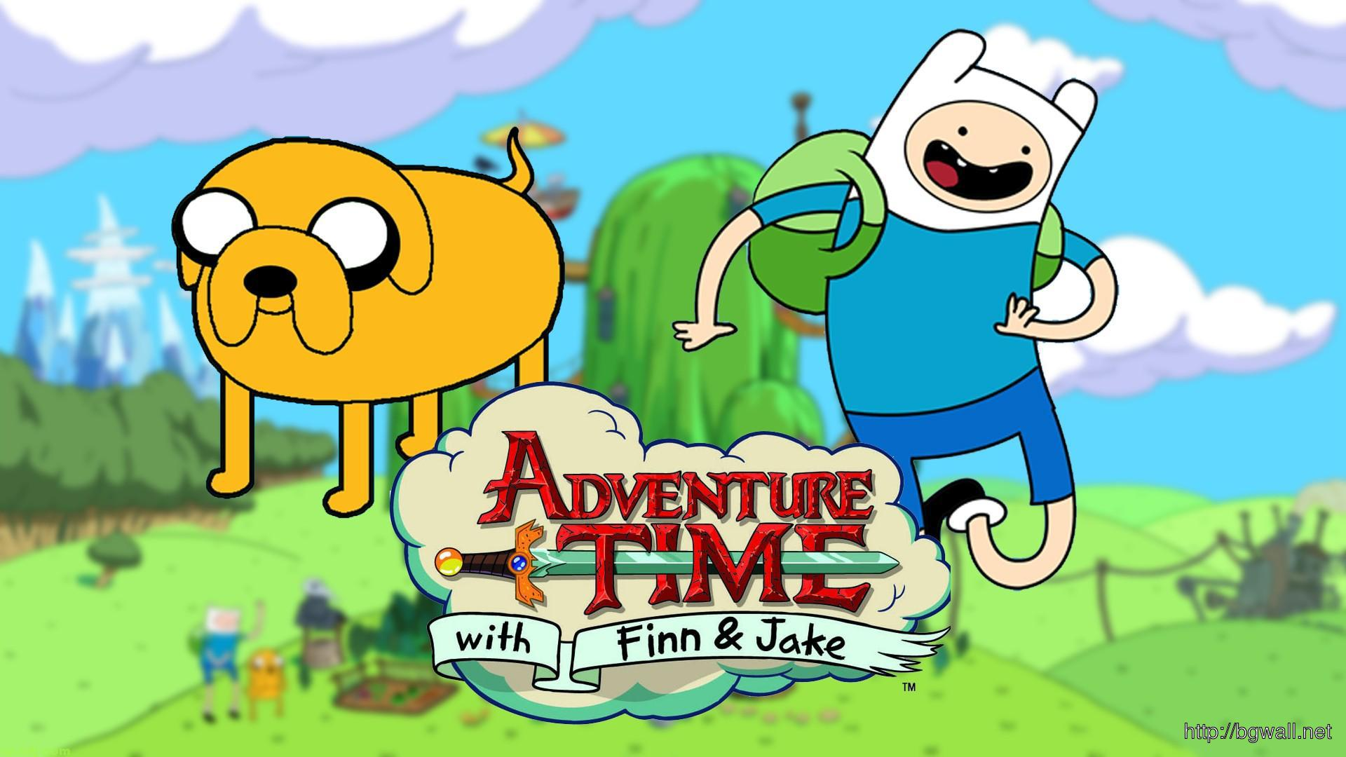 adventure-time-with-finn-jake-wallpaper