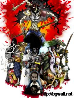 afro-samurai-character-anime-wallpaper