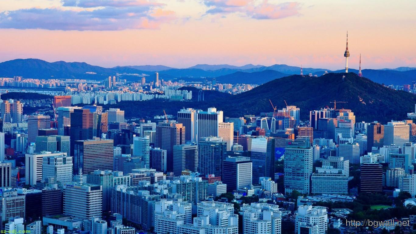 Afternoon at seoul south korea wallpaper images widescreen for Home wallpaper korea