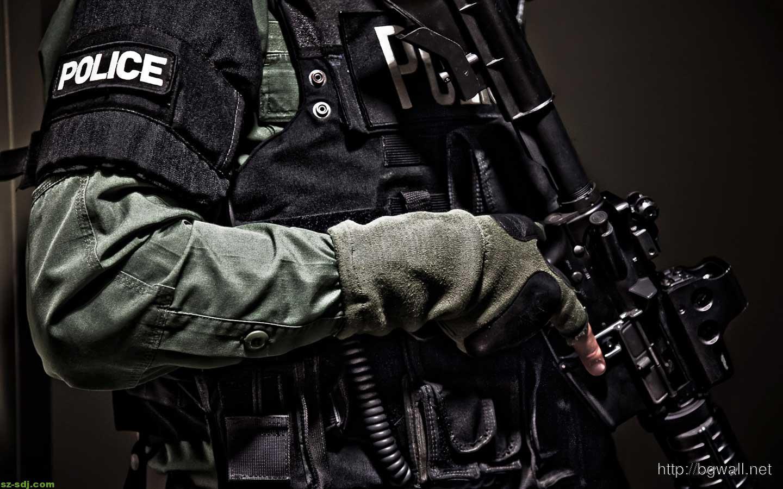 Amazing Police Guns Wallpaper – Background HD