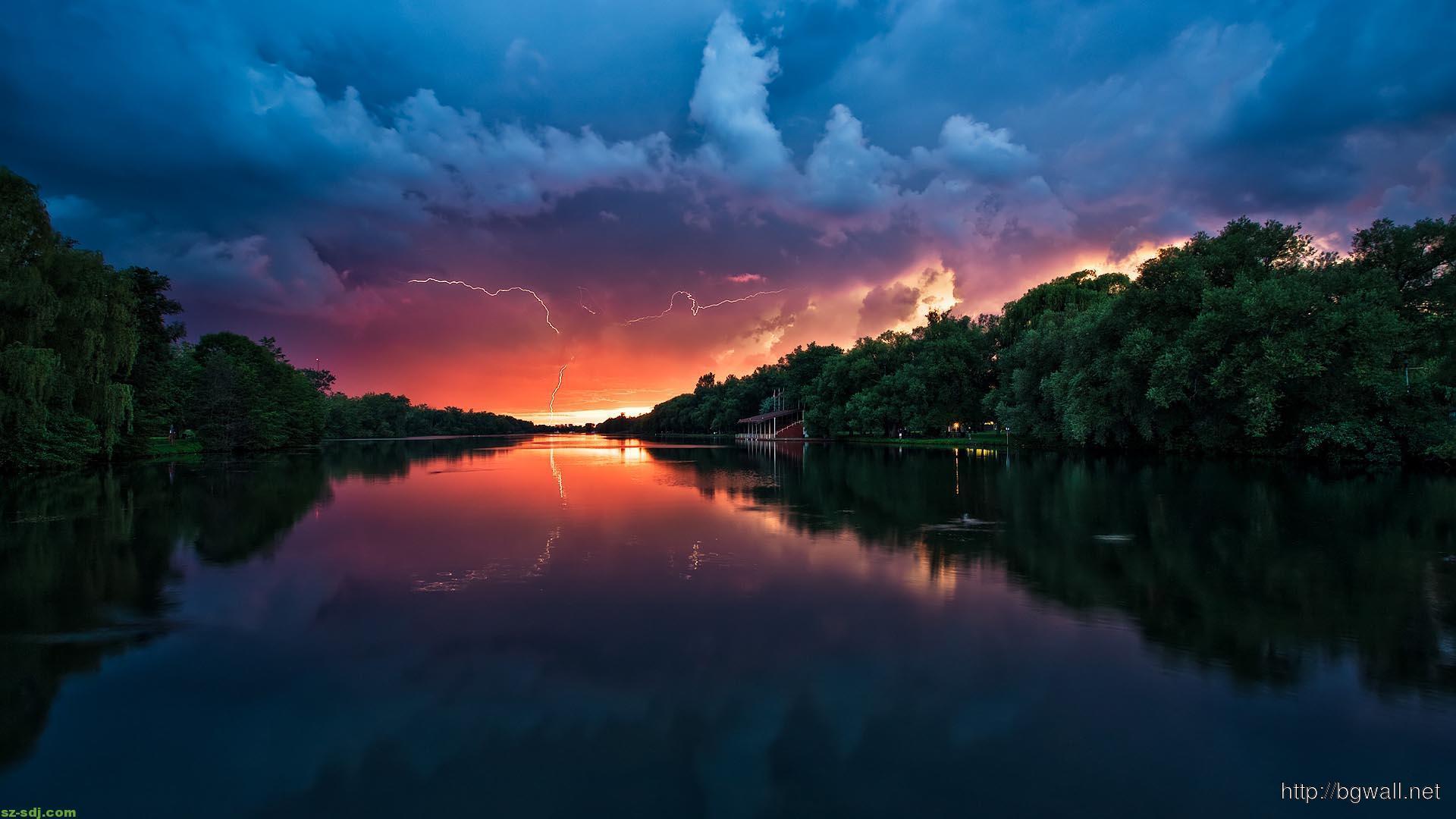 amazing-river-sunset-wallpaper-for-desktop