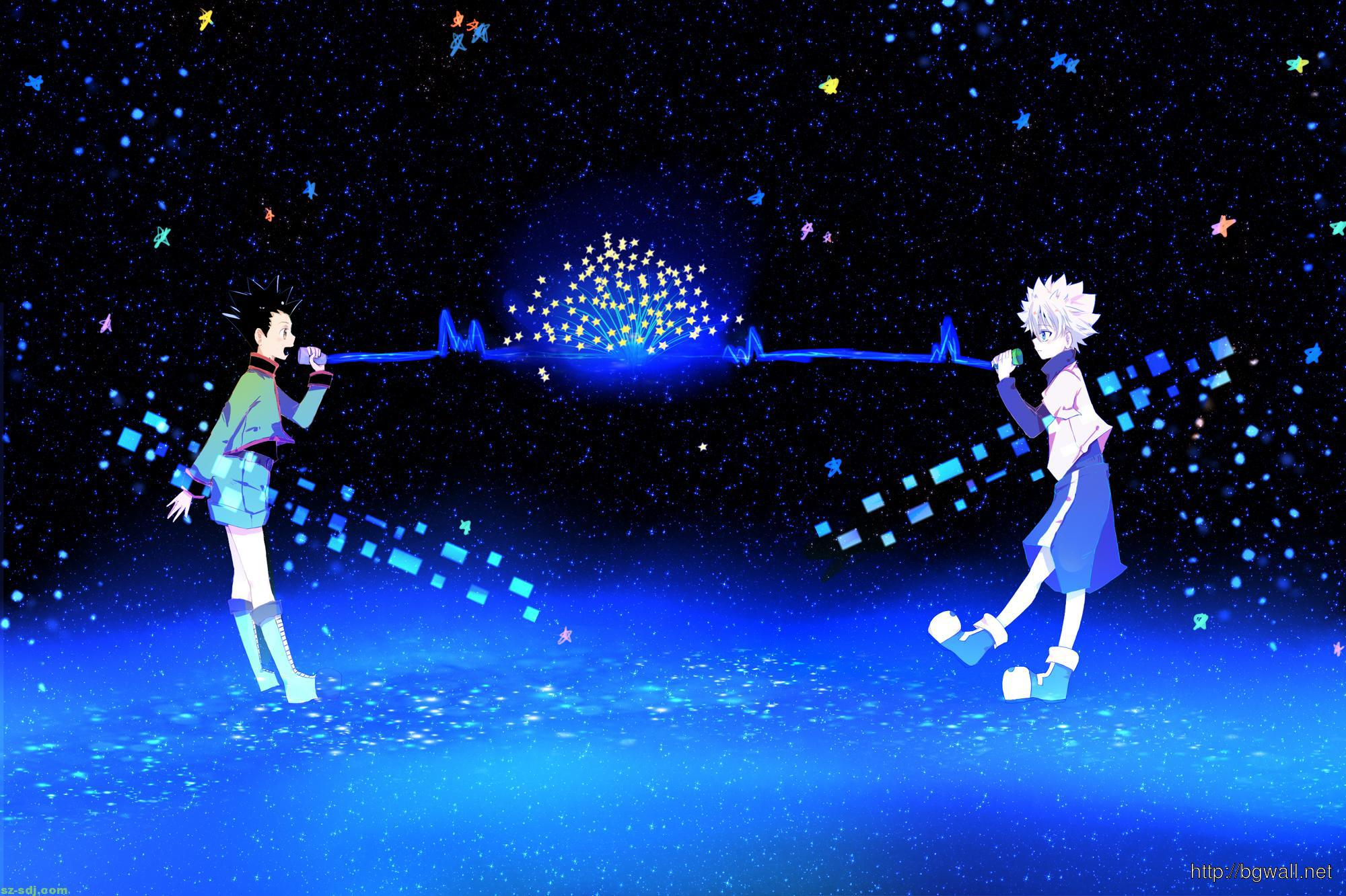 anime hunter x hunter wallpaper background wallpaper hd