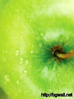 apple-green-macro-wallpaper