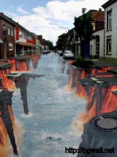 art-street-along-the-way-wallpaper-image