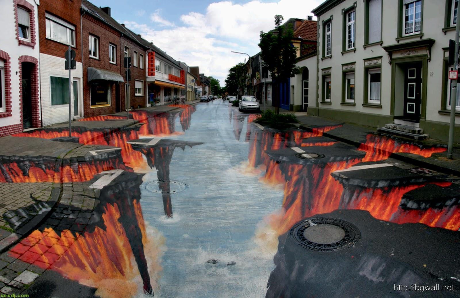 art-street-along-the-way-wallpaper-image
