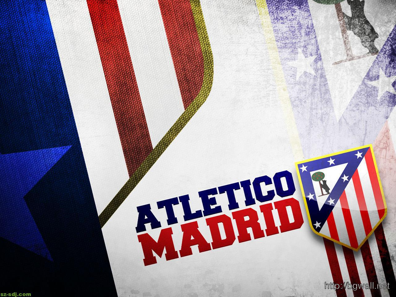Atletico Madrid Logo Desktop Wallpaper