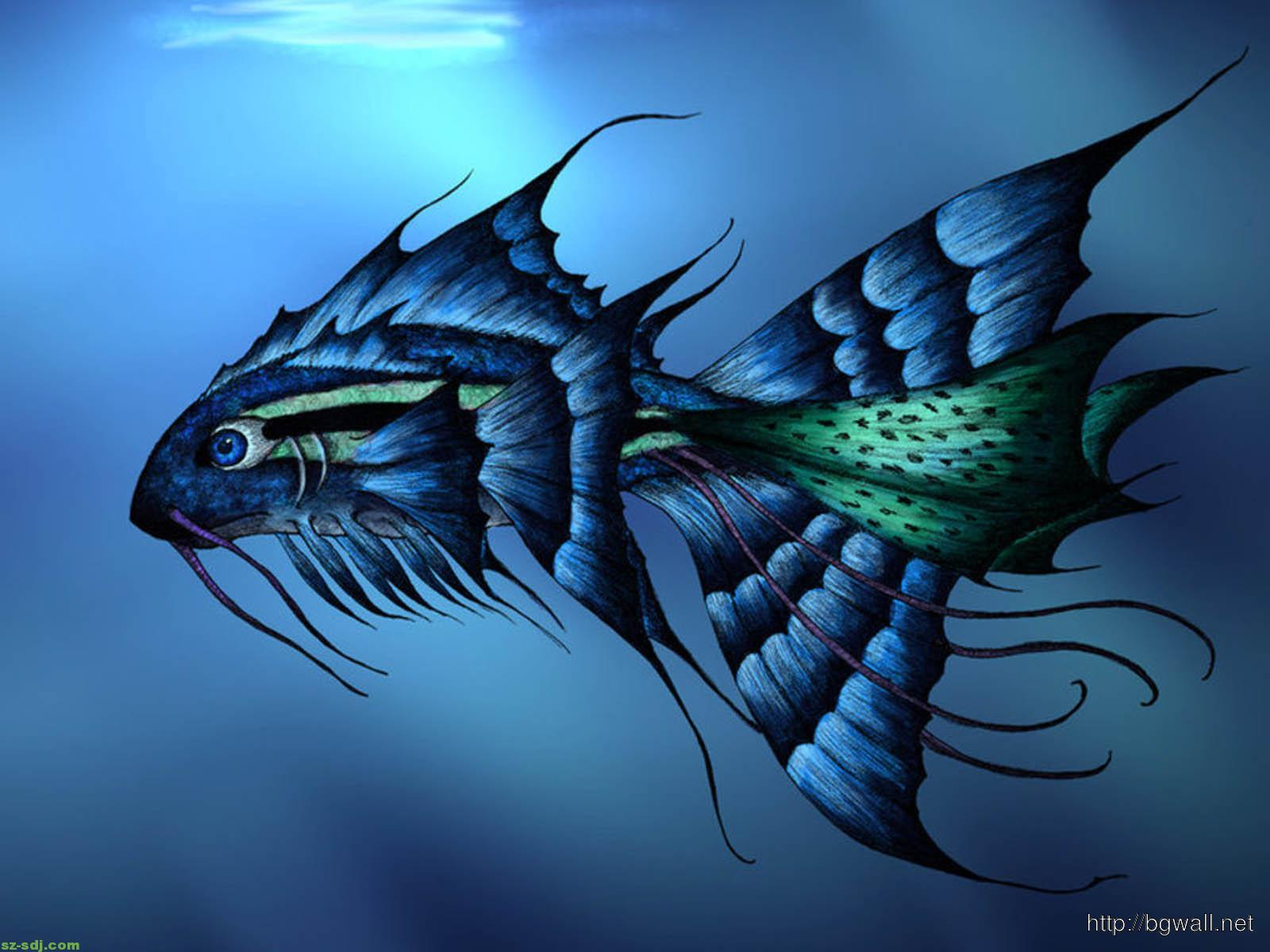 awesome 3d fish wallpaper for android � background