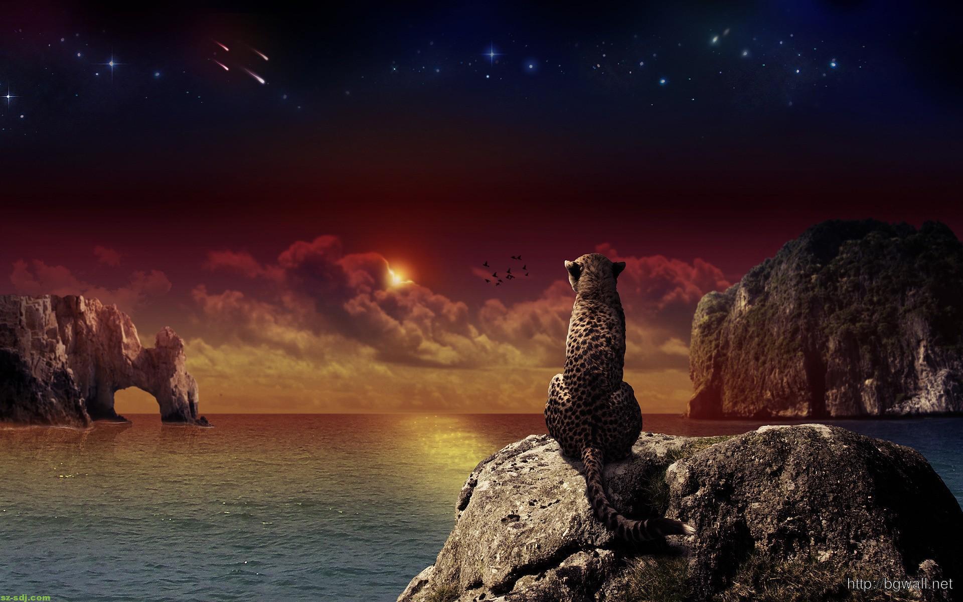 awesome-cheetah-fantasy-wallpaper