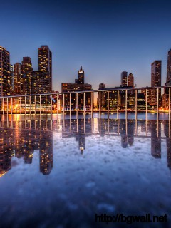 awesome-chicago-reflection-wallpaper