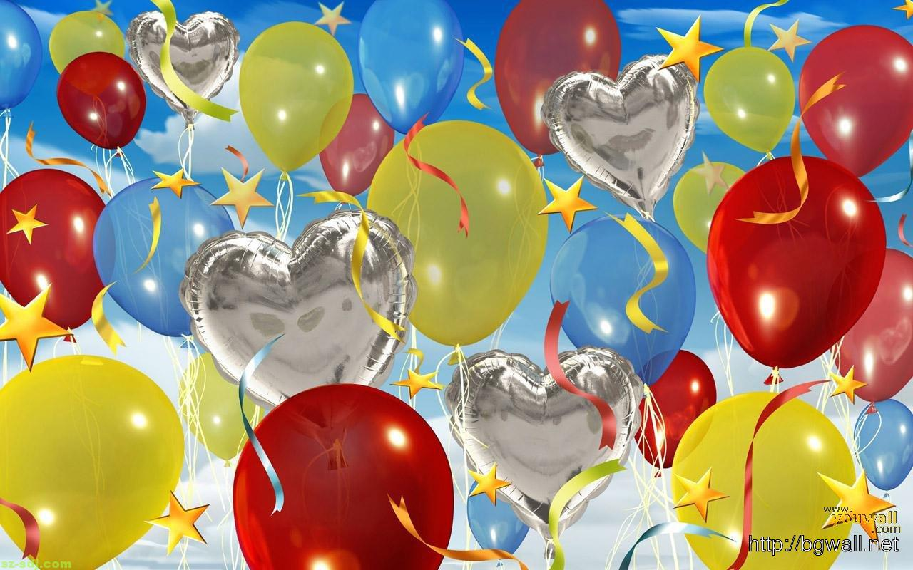 Balloon Gift Wallpaper Pictures Hd