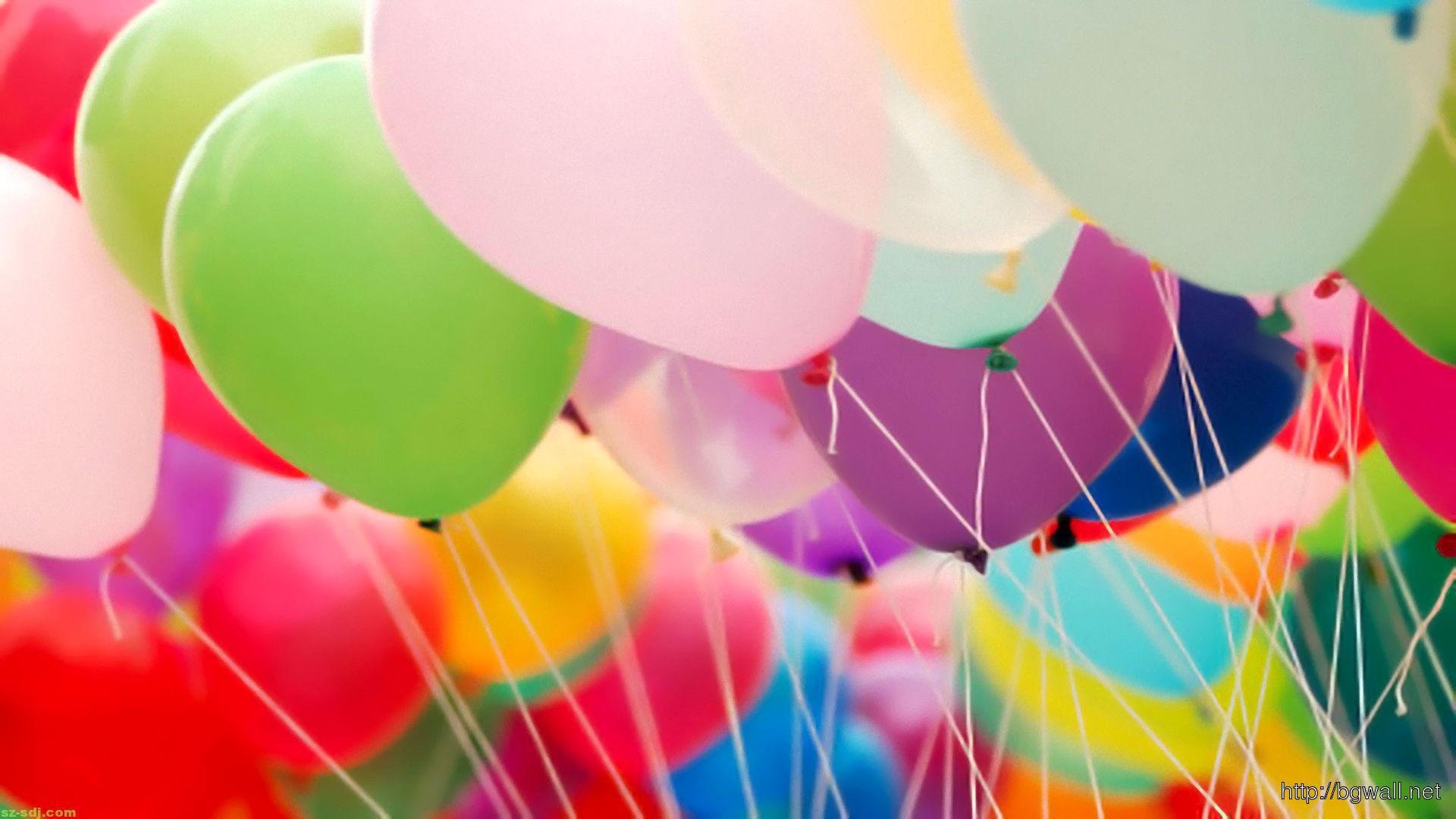 Balloon Macro Colorful... Rainbow Cheetah Wallpaper