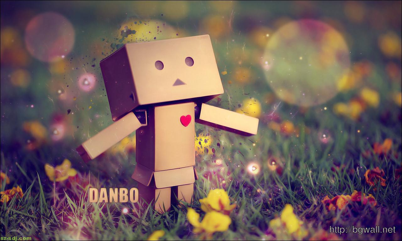 Beautiful Danbo Wallpaper Background