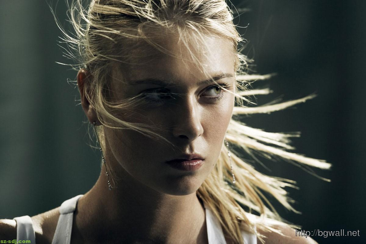 beautiful maria sharapova face wallpaper – background wallpaper hd