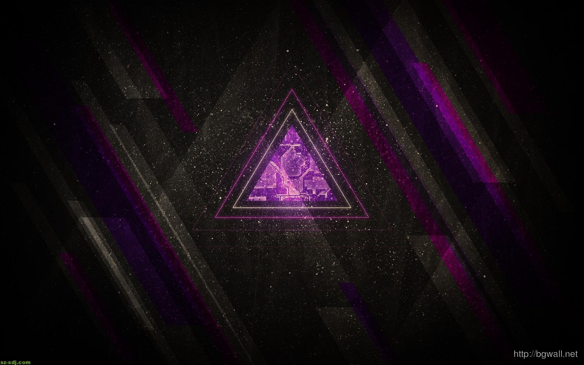 best-triangle-artwork-wallpaper-design
