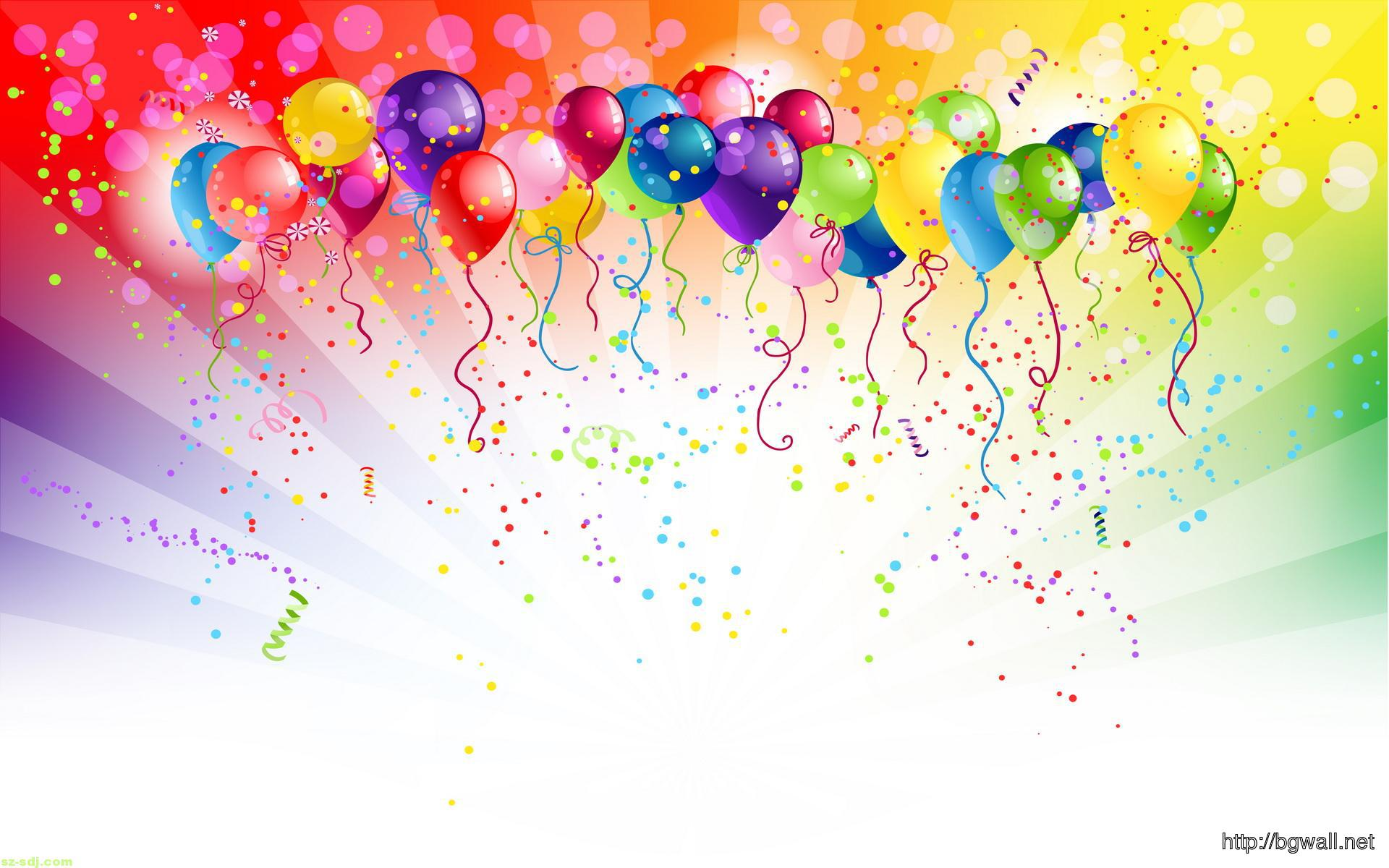 Birthday Balloon Wallpaper Picture – Background HD