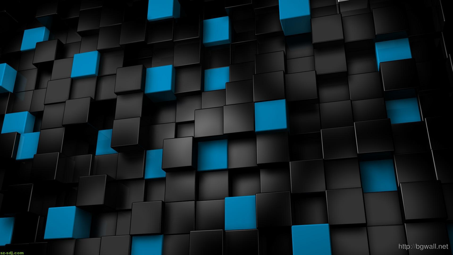 Black And Blue Box Wallpaper Hd – Background HD