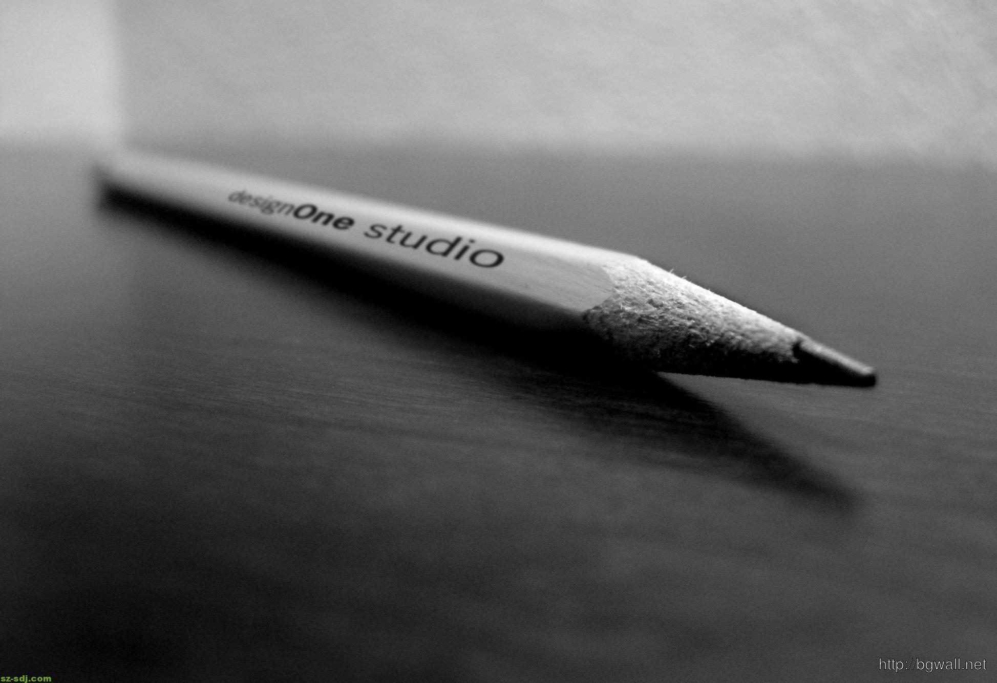 Black And White Pencils Wallpaper Macro – Background