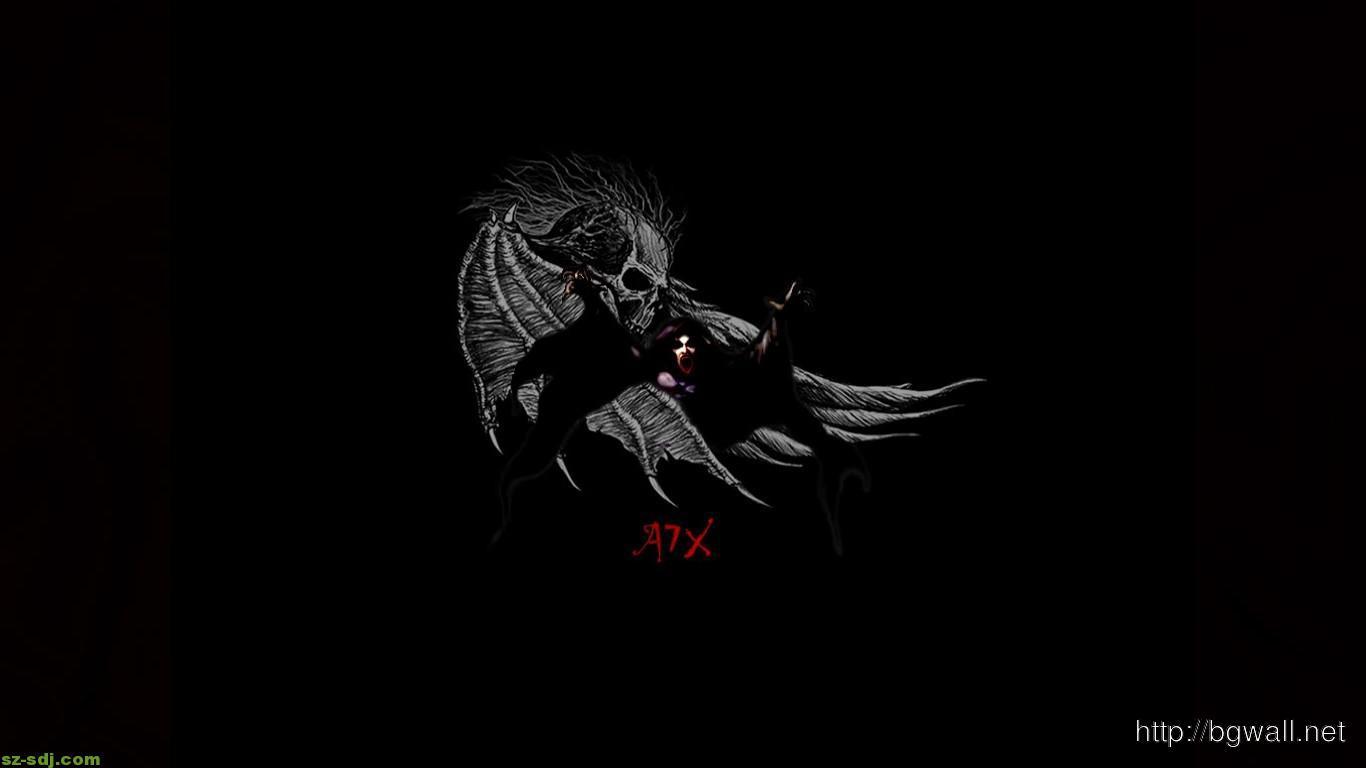 Black Avenged Sevenfold Wallpaper Desktop