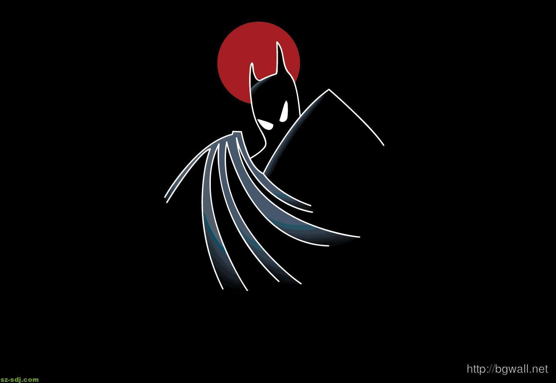 Black batman cartoon series wallpaper background - Batman wallpaper cartoon ...