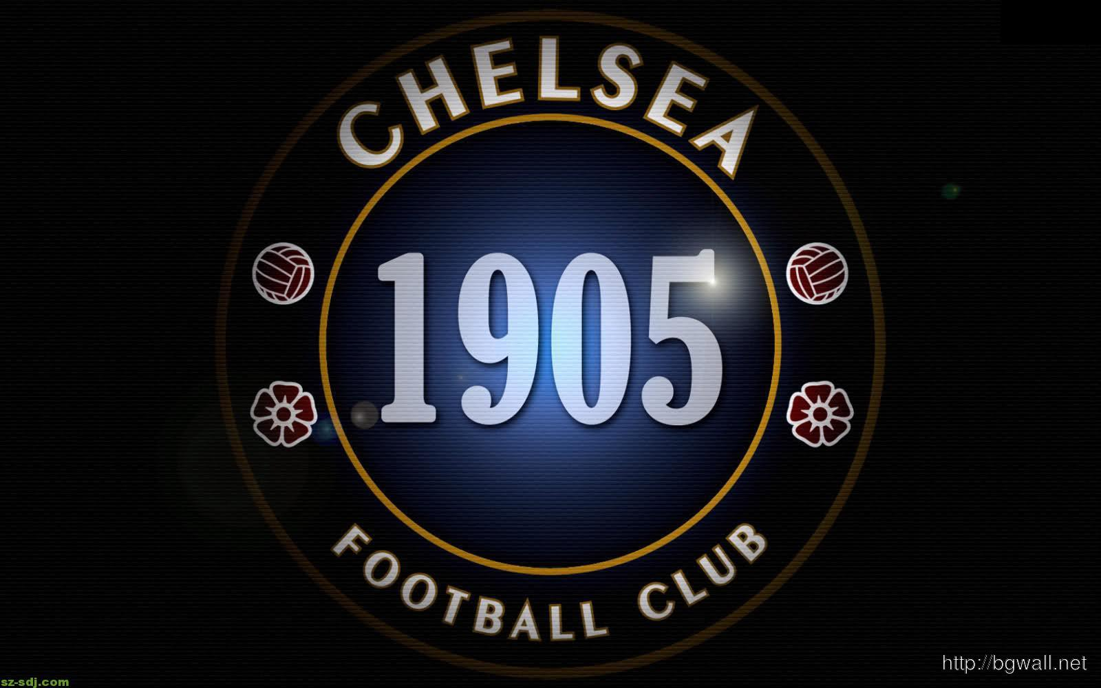 Black Chelsea Logo Wallpaper Hd Image