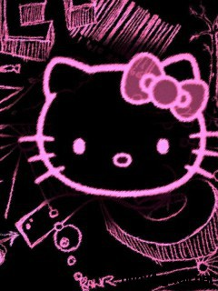 black-hello-kitty-wallpaper-widescreen