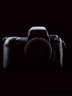black-nikon-camera-wallpaper-wide