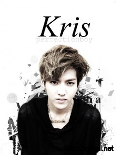 black-white-kris-exo-m-wallpaper-photos
