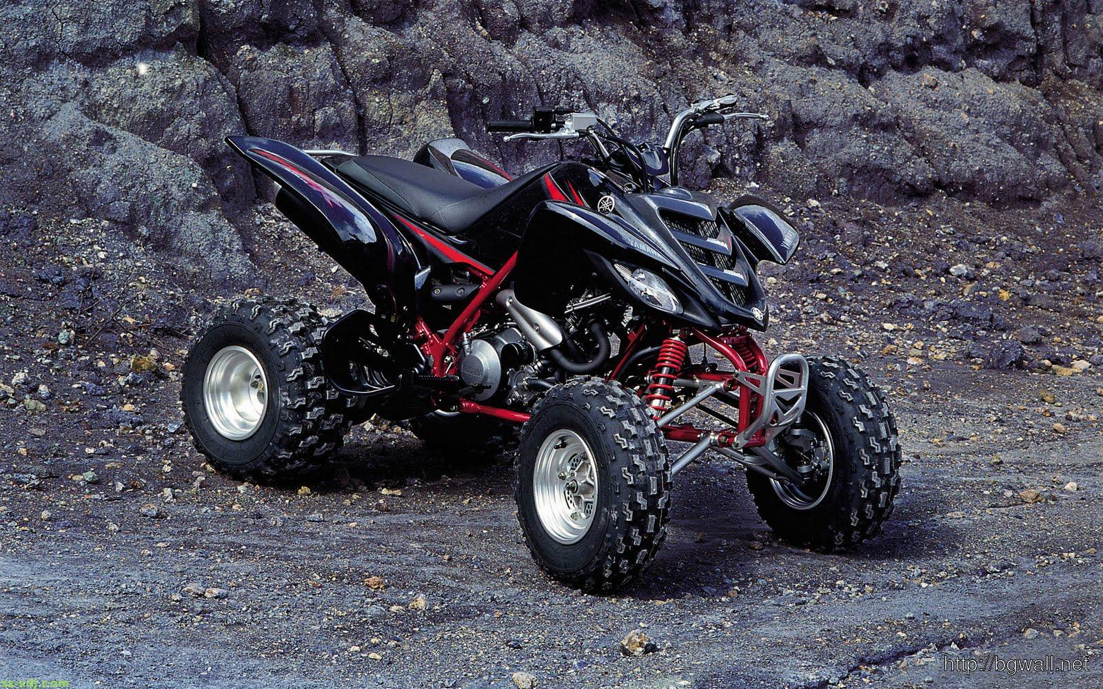 black-yamaha-atv-wallpaper