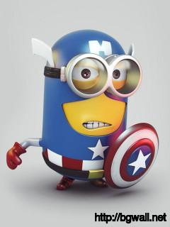 blue-captain-america-minion-wallpaper-hd