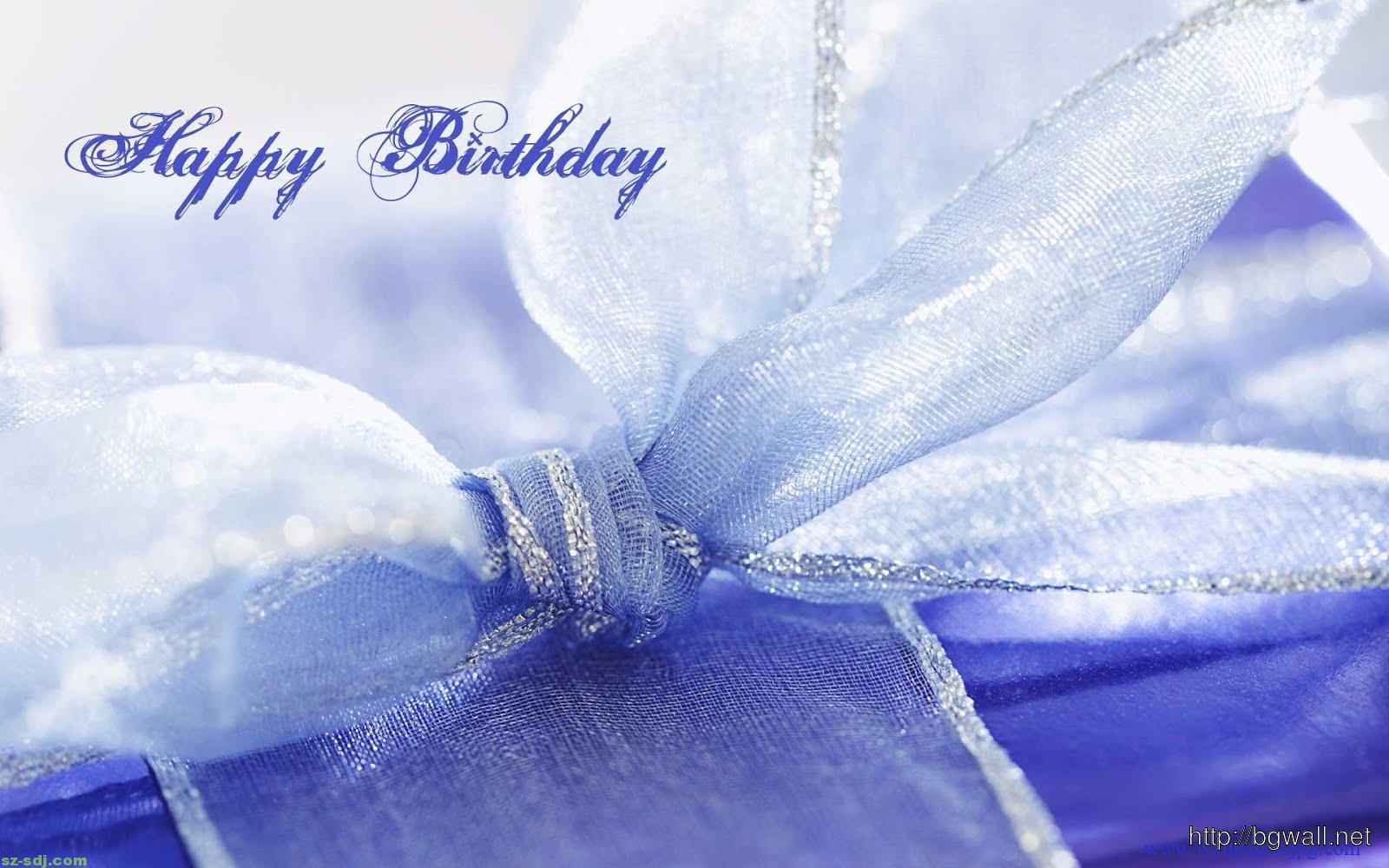 Happy Birthday Background Wallpaper Purple Blue Happy Birthday Wallpaper