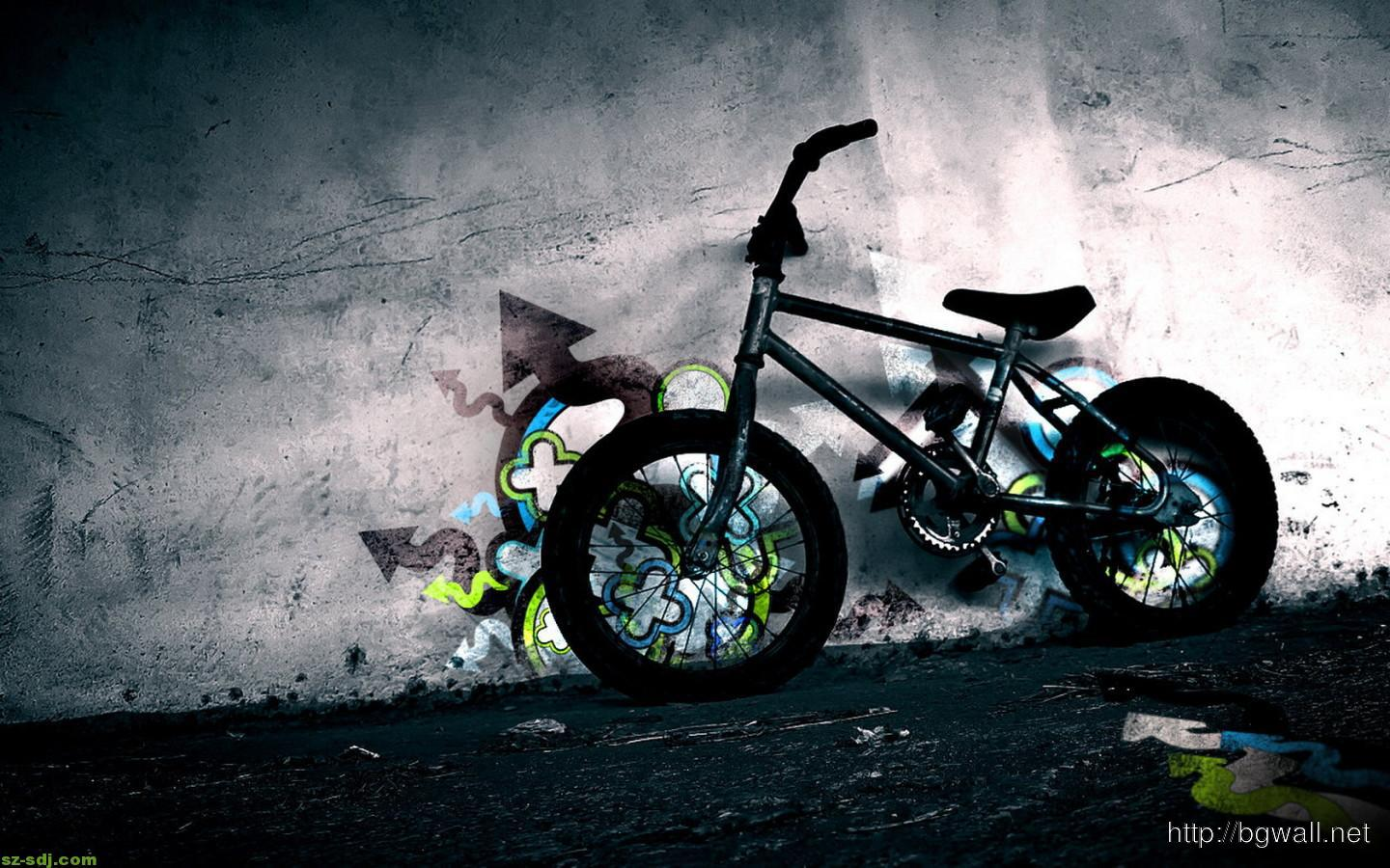 Bmx Bicycle Desktop Wallpaper