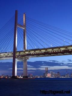 bridge-with-light-wallpaper-high-resolution