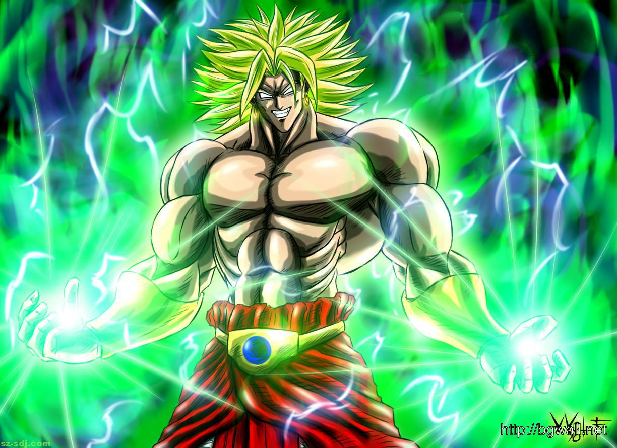 Broly Dragon Ball Wallpaper Background Wallpaper Hd