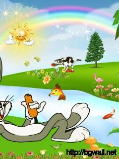 bugs-bunny-kids-cartoon-wallpaper-hd