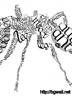 calligram-ant-art-wallpaper