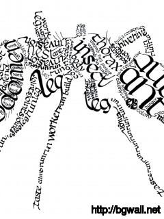 calligram-ant-art-wallpaper