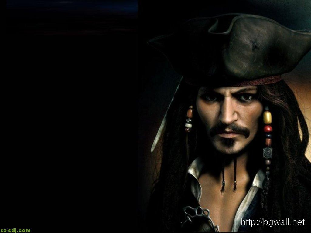 Captain Jack Sparrow At The Dark Wallpaper Hd