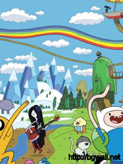 cartoon-adventure-time-wallpaper