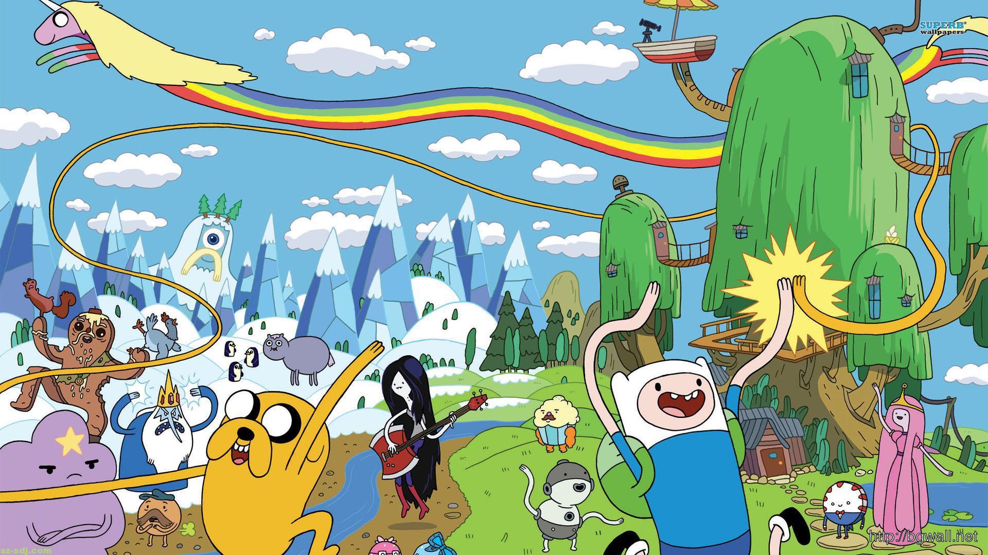 cartoon-adventure-time-wallpaper