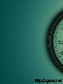 clock-with-quote-wallpaper-hd